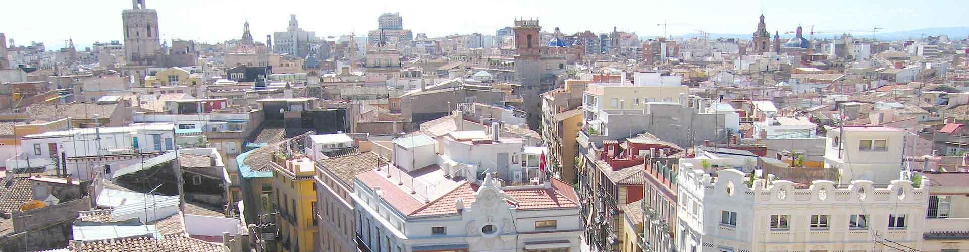 Valence - Auberges de jeunesse dans le quartier de Ciutat Vella. Cartes pour Valence, photos et commentaires pour chaque auberge de jeunesse à Valence.