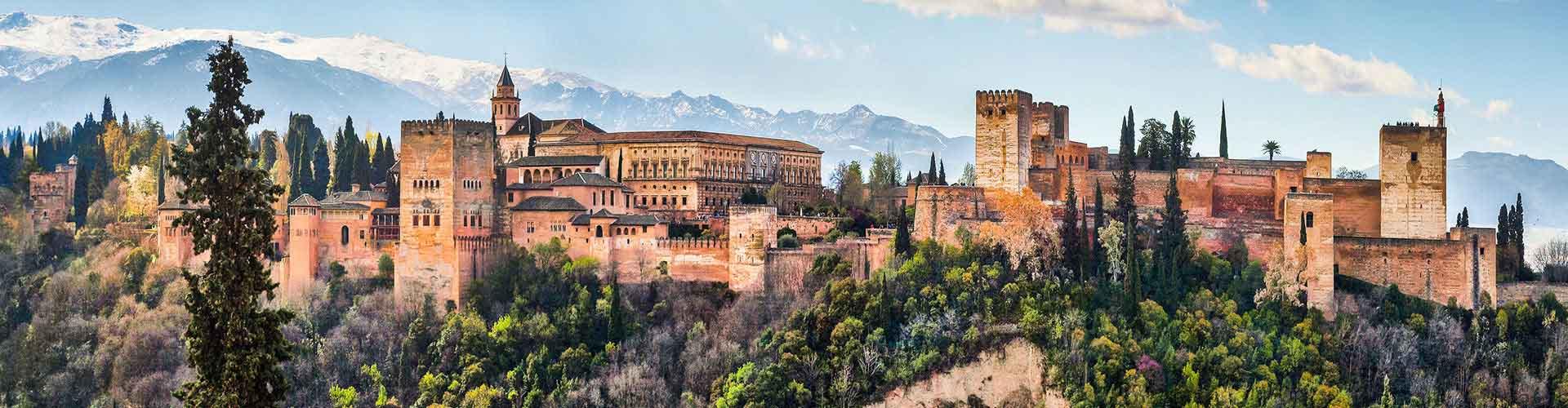 Grenade - Appartements dans le quartier de Alhambra. Cartes pour Grenade, photos et commentaires pour chaque appartement à Grenade.
