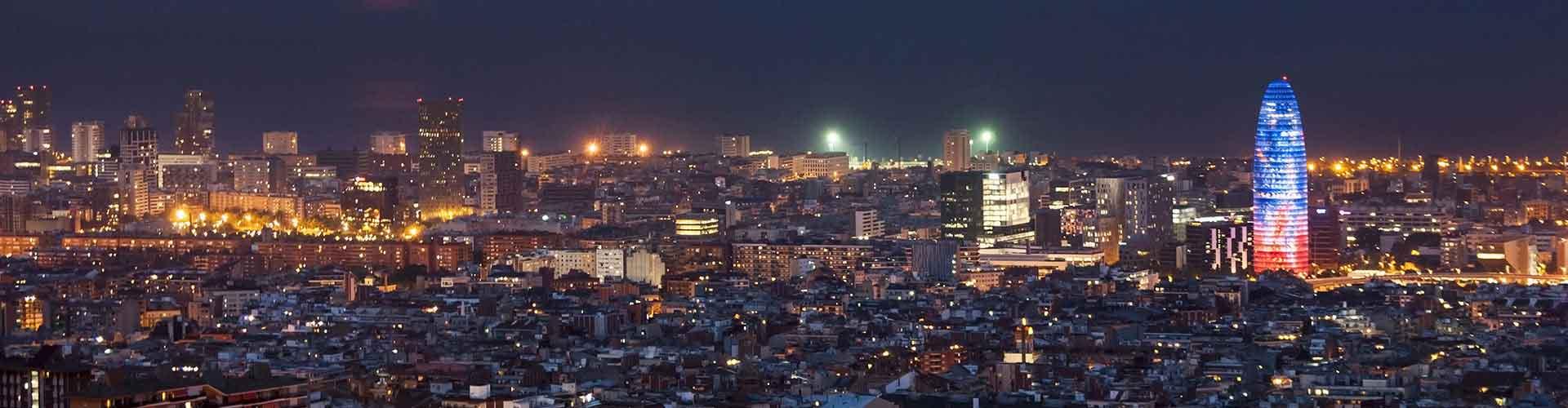 Barcelone - Chambres près de Torre Agbar. Cartes pour Barcelone, photos et commentaires pour chaque chambre à Barcelone.