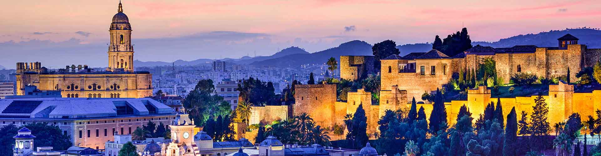 Malaga - Hôtels dans le quartier de Miramar. Cartes pour Malaga, photos et commentaires pour chaque hôtel à Malaga.