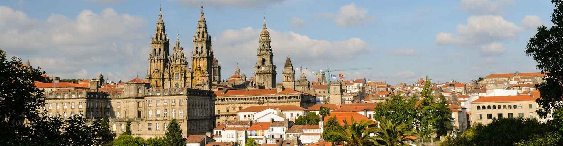 Santiago de Compostela - Hôtels à Santiago de Compostela. Cartes pour Santiago de Compostela, photos et commentaires pour chaque hôtel à Santiago de Compostela.