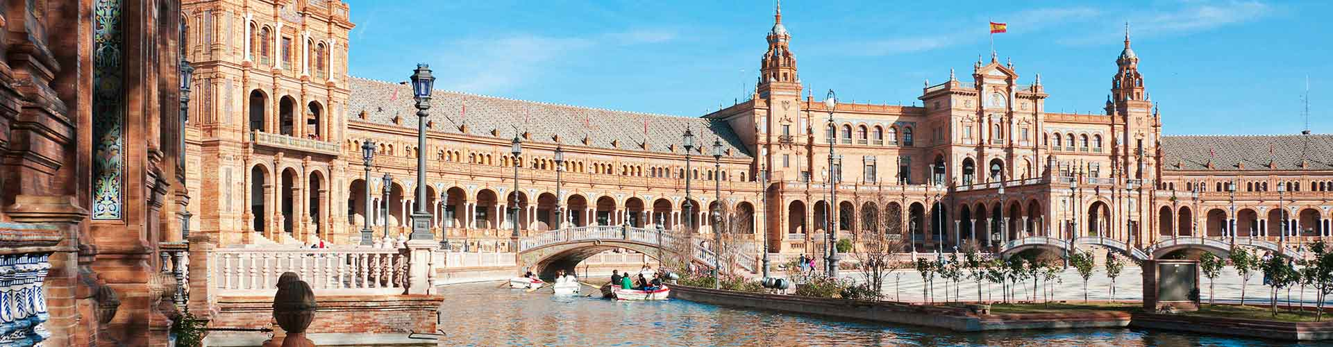 Seville - Hôtels à Seville. Cartes pour Seville, photos et commentaires pour chaque hôtel à Seville.