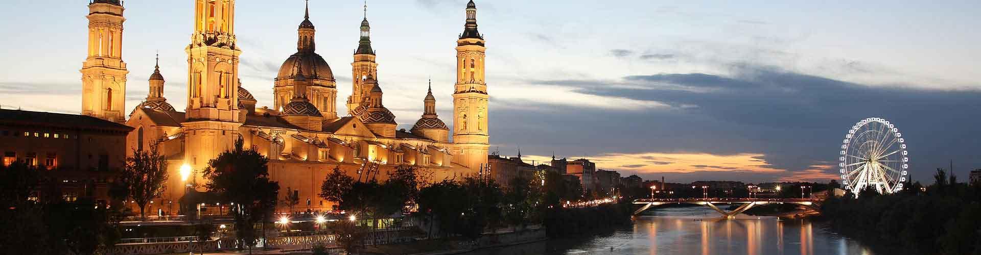 Zaragoza - Hôtels dans le quartier de Ciudad Jardin. Cartes pour Zaragoza, photos et commentaires pour chaque hôtel à Zaragoza.