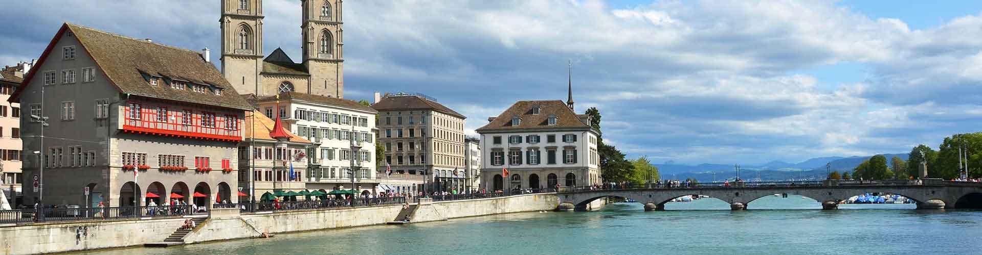 Zurich - Hôtels dans le quartier de Industriequartier. Cartes pour Zurich, photos et commentaires pour chaque hôtel à Zurich.
