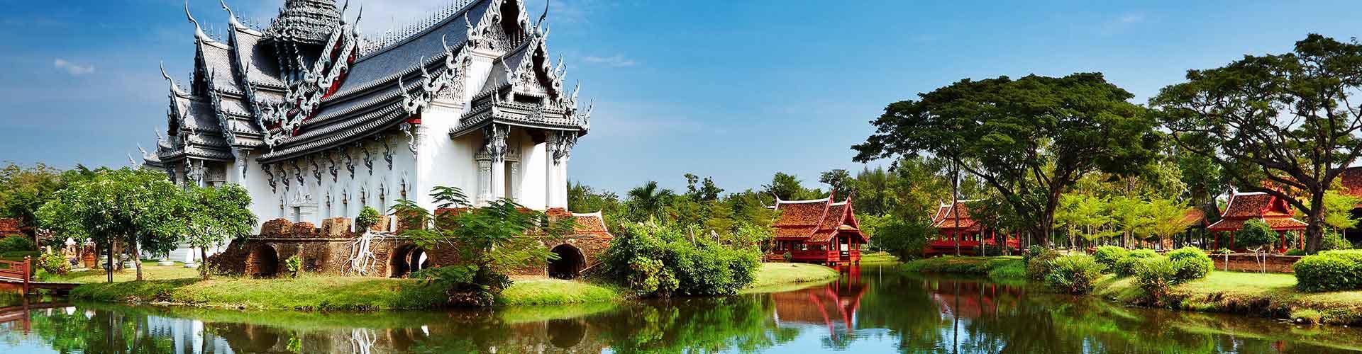 Bangkok - Chambres pas chères dans le quartier de Saphan Khwai. Cartes pour Bangkok, photos et commentaires pour chaque chambre à Bangkok.