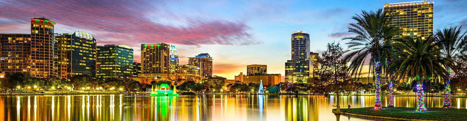 Orlando - Hôtels dans le quartier de Walt Disney World. Cartes pour Orlando, photos et commentaires pour chaque hôtel à Orlando.